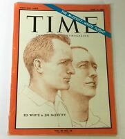 VTG Time Magazine June 11 1965 - The Ed White and Jim McDivitt Fight / Newsstand