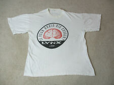 VINTAGE Atari Lynx Shirt Adult Extra Large White Video Game Console Handheld 90s