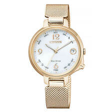 Citizen Watch Eco Drive Bluetooth EE4035-81A Women Pink Gold Genuine from JAPAN