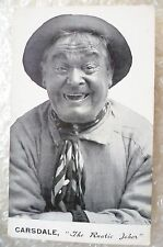 Postcard- Carsdale the Rustic Joker