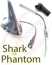 KFZ Shark Hai Dachantenne Fuß Radio für VW Golf 4 / Bora / Dach Antenne Flosse