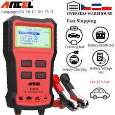 2020 12V Car Battery Tester Digital Vehicle Analyzer Tool 2000 CCA Charging Test
