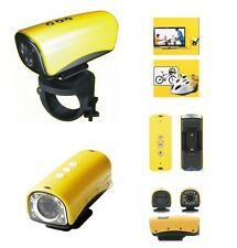 Action camera SPORT HD LUCI LED WATERPROOF VIDEO 120 WIDE ANGLE + KIT ACCESSORI