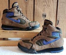 Vtg 1994 Nike Air Caldera ACG Brown/Blue Hiking Boots 685021 241 Women Sz 6.5 M