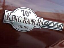 F-L35S KING RANCH F350 FENDER TAILGATE EMBLEM BADGE FOR  F-350 SUPER DUTY