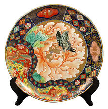 Signed Koransha Imari Japanese Meiji Period Fukagawa Charger