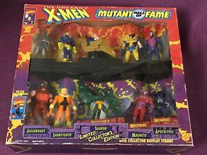 Toybiz Marvel X-Men Mutant Hall of Fame 10 Figure Playset Limited Edition MIB