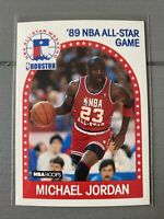 1989-90 NBA Hoops Michael Jordan All-Star #21 Chicago Bulls