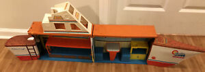 "1974 MATTEL BARBIE DREAM BOAT 48"" Chris Craft, Foldable Case + Handle #7232"