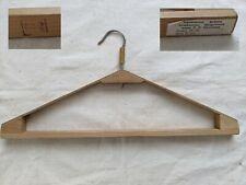 Vintage Soviet wooden coat hanger USSR era