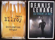 Lot de 75 Rivages thriller et écrits noirs.