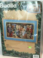 Bucilla NATIVITY Needlepoint Christmas Picture Kit – Nancy Rossi - 60735
