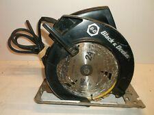 "7308 Type 7 Black & Decker 7 1/4"" Circular Saw Tested"