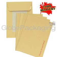 200 x C5 A5 BOARD BACK BACKED ENVELOPES 229x162mm PIP