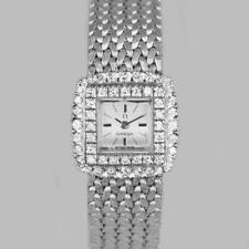 Omega diamond Bracelet Watch Ladies Vintage 9ct Gold 1970's watch 1.20ct diamond