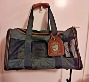 Sherpa Original Deluxe Medium Pet Carrier Blue Soft Side Cat Dog Travel Bag-NEW