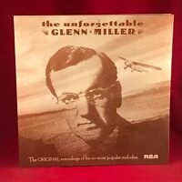 The Unforgettable Glenn Miller - 1977 UK vinyl LP EXCELLENT CONDITION