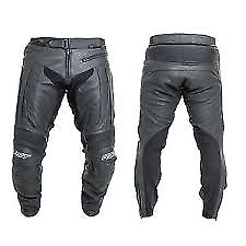 RST 1069 R-16 Leather Motorcycle Leather Jeans Black Size XXXL 40