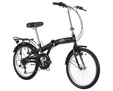 "Freespirit Darley 6 Speed 20"" Wheel Black Folding Bike RRP £210.00"
