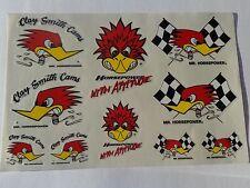 CLAY SMITH CAMS MR HORSEPOWER 10 PIECE STICKER PACK RAT ROD CUSTOM NOSTALGIA HOT
