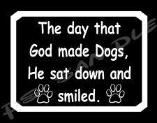 GOD MADE DOGS - Flexible Fridge MAGNET
