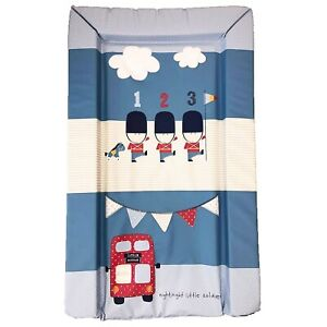 Little Soldier Padded Baby Changing Mat Nursery Nappy Change Unit Waterproof Top