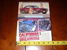1968 FORD MUSTANG CALIFORNIA SPECIAL GT/CS - ORIGINAL 1990 ARTICLE