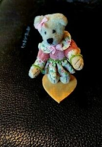 LITTLE GEM Teddy Bear by Lisa Lloyd with Tags and Box