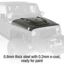 Smittybilt SRC Stingray Vented and Insulated Steel Hood 07-16 Jeep Wrangler JK