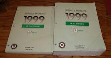 Original 1999 Chevrolet Geo Metro Shop Service Manual Volume 1 2 Set 99 Chevy