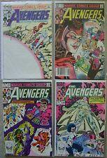 Avengers #233-235,#238 Marvel Comics (4) Comic Run 1983 Avg VF+ Thor Vision +