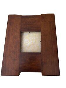 4x4 Mission Cherry Tile Frame Tapered Sides