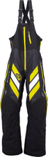 Arctiva S7 Mech Bibs / Pants Snowmobile Black/Yellow New