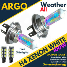 Ford Fiesta Mk6 02 On St H4 501 Smd Hid White Xenon Headlight Bulbs 8500k Led