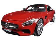 MERCEDES AMG GT RED 1:24 DIECAST MODEL CAR BY MAISTO 31134