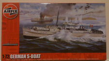 AIRFIX S BOAT E BOAT SCHNELLBOOT Model Kit 1/72 Torpedo Boat MTB w/ crew