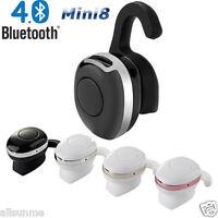 New Mini8 Ultra-small Bluetooth 4.1 Stereo HD MIC Headset Earphone Earbud In Ear