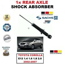 FOR TOYOTA COROLLA 1.4 1.6 1.8 2.0 2002-2007 1x SACHS REAR AXLE SHOCK ABSORBER
