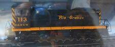 Atlas HO #10001900 Rio Grande D&RGW S-2 Rd #113 DCC Ready w/NMRA 8-Pin Plug