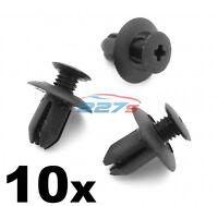 10x 8mm Plastic Trim Clips- Same as Mazda B09251833, Wheel arch & Sill Moulding