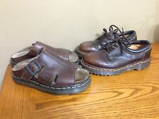 Vintage Brown Dr Martens Shoes & Sandals Women's Size 7 USA Made In UK Docs