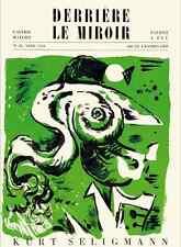 DLM Maeght Paris Lithographie Derrière le Miroir 19 SELIGMANN 1949 PARFAIT ETAT
