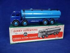 Dinky Supertoys No.504 Foden 14-ton Tanker 1st Type Cab Boxed