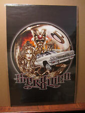 vintage Orginal Low rider STR8LOCK Poster 2000 1097