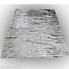 10 Pack Emergency Survival Safety Mylar Solar Blanket Wrap Thermal Escape Tarp