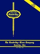 """SMITH """"THE CAMBRIDGE GLASS COMPANY"""" 1991 PB ED VG 100'S OF PHOTOS, VALUES"""