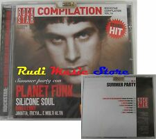 CD Promo Rockstar Sealed Summer Party Planet Funk Line 77 (c10) no lp MC dvd