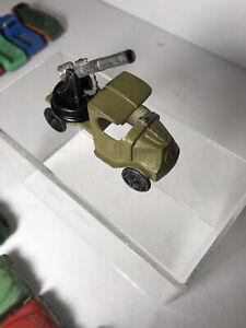 Tootsie Toy  Mack Anti Aircraft Gun Truck #4643 - 1931