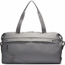 Nike Women's Radiate Club Atmosphere Grey/Silver AOP Duffel Bag (CQ0468-059)