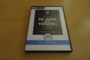 BLACK & WHITE 1 - GOD SIM PC GAME - FAST POST- COMPLETE WITH ALL 3 MANUALS - VGC